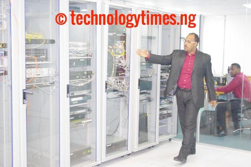 Pictured: Inside Nigeria's local Internet traffic exchange