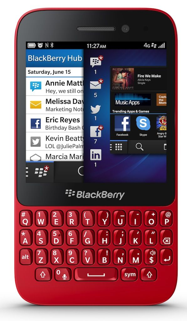 Want to become a movie maker? Try out Blackberry Q5