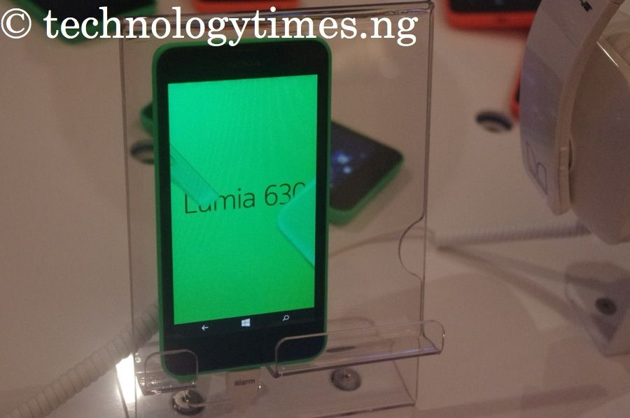 Pictured: Nokia Lumia 630, dual SIM Windows smartphone in Nigeria debut