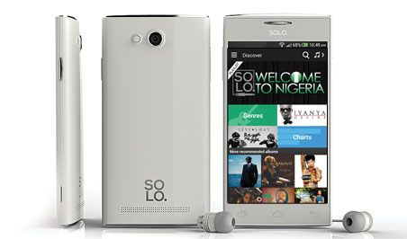 Solo S450 smartphone taps music to play in Nigeria