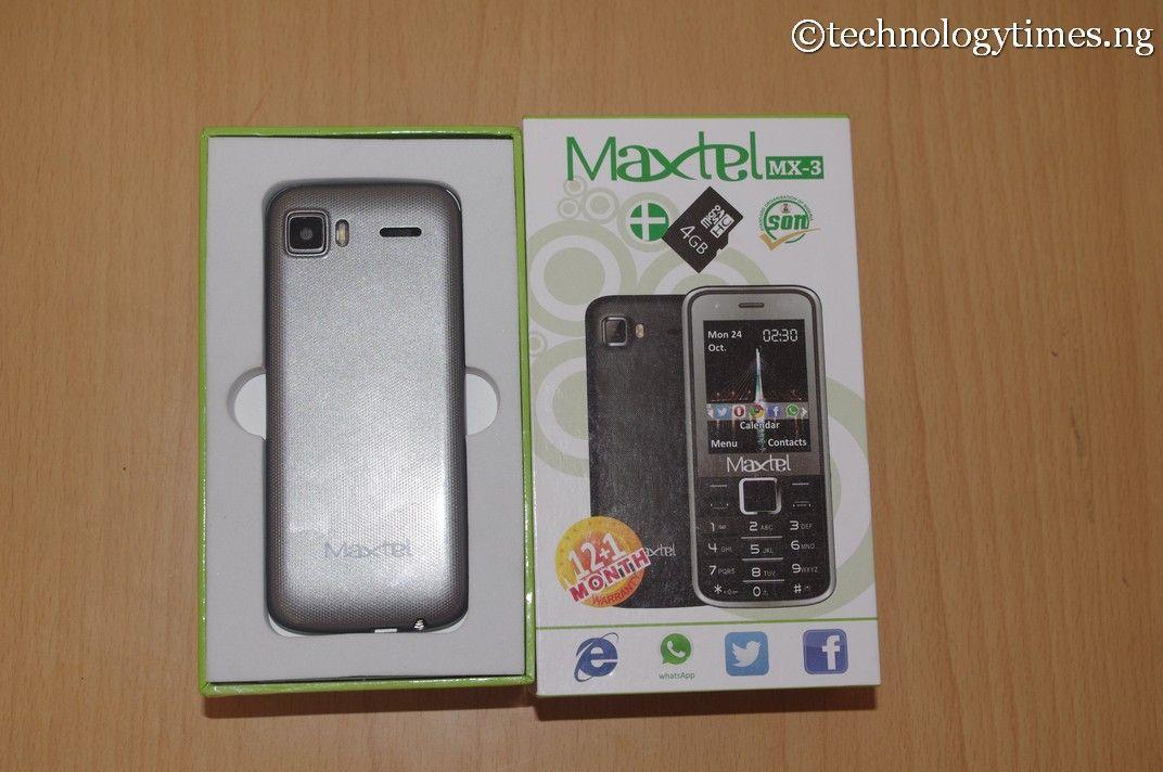 Pictured: Maxtel MX-3, the Nigerian phone that sells below ₦4000