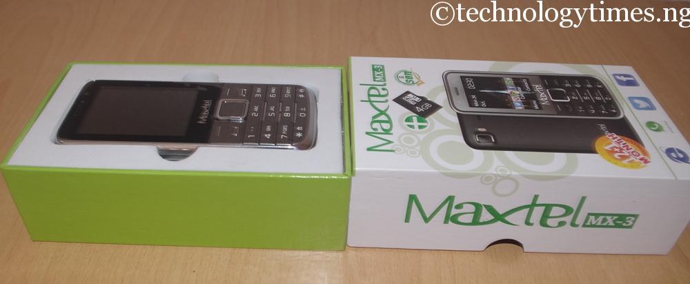 Nigerian dual-SIM phone, Maxtel MX-3 makes market debut below ₦4000