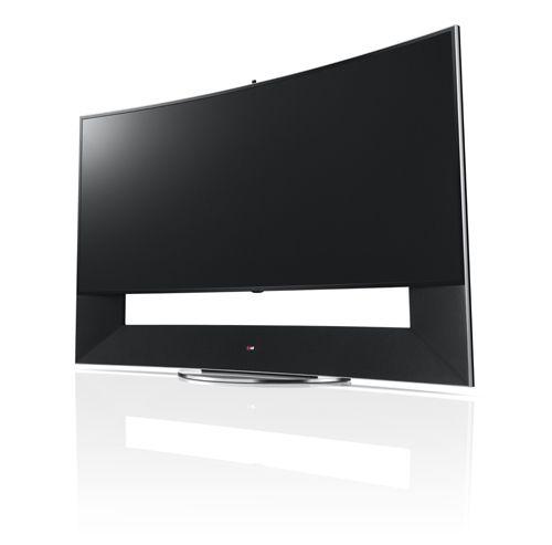 LG begins sales of 105-inch curved TV