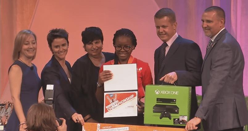 Nigeria's Agusto wins Microsoft Office Specialist World Championship