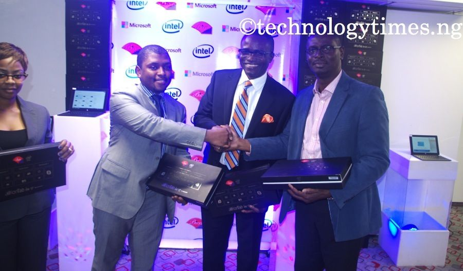 Pictured: Launch of Brian Tab iw10 in Lagos