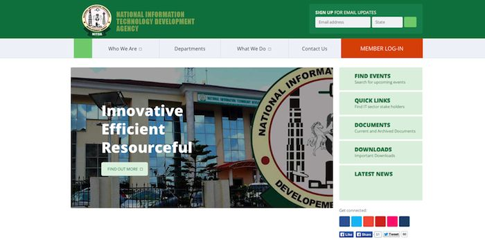 e-Governance, NITDA opens nominations for e-Governance awards, Technology Times