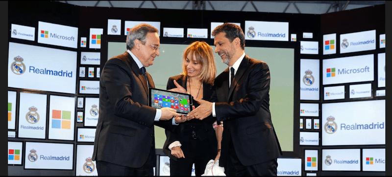 Microsoft to digitally transform Real Madrid