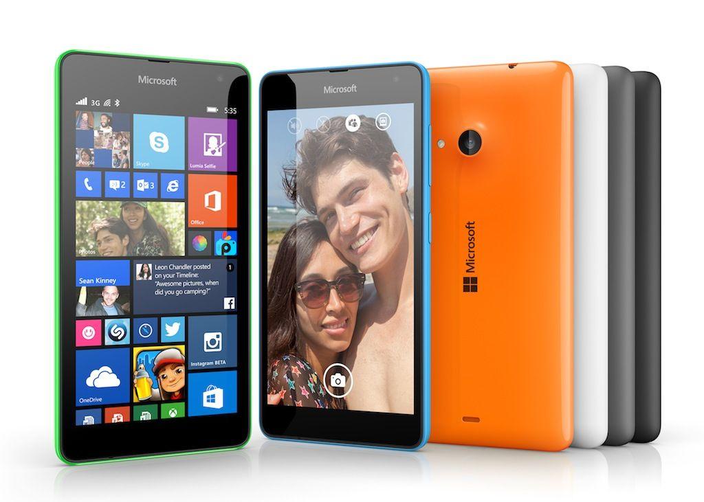 Microsoft launches new 'Nokialess' Lumia 535 smartphones