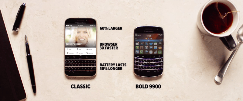 Blackberry Classic vs Balckberry Bold 9900: How they compare