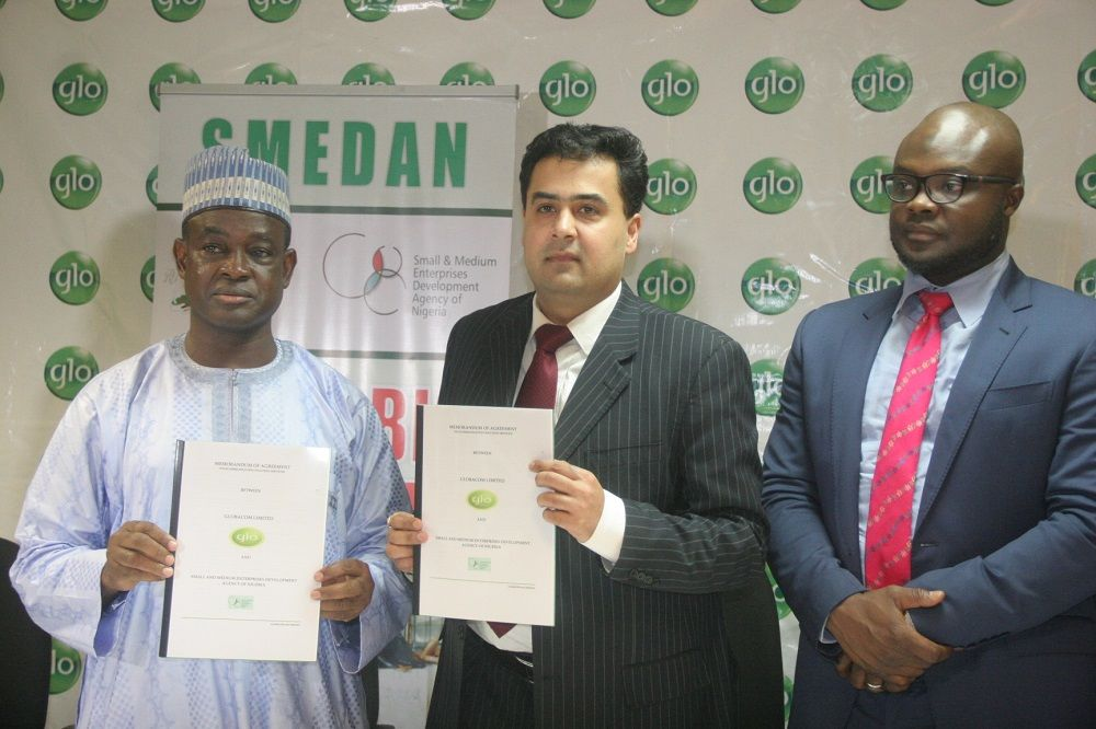 Glo targets 17 million Nigerian SMEs with SMEDAN pact