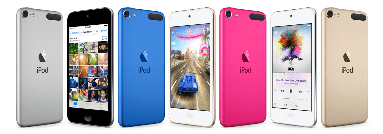 Apple's new iPod touch out
