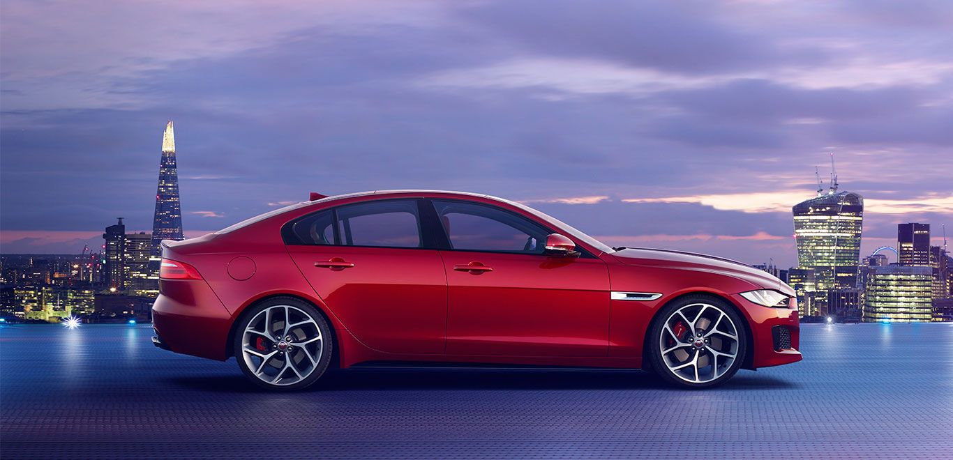 The new Jaguar XE