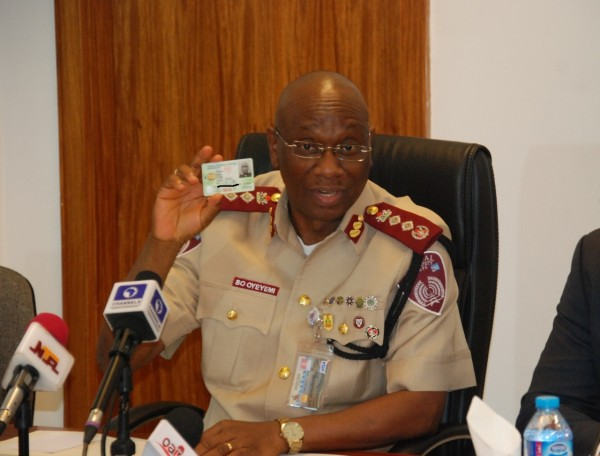 Mr Boboye Oyeyemi, Corps Marshal of the Federal Road Safety Commission, says the agency is ready 'for initial technical aspects of data harmonization.'