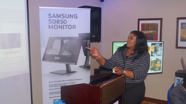 Samsung shows off new display systems in Nigeria
