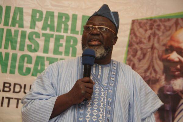 Adebayo Shittu, Minister of Communication