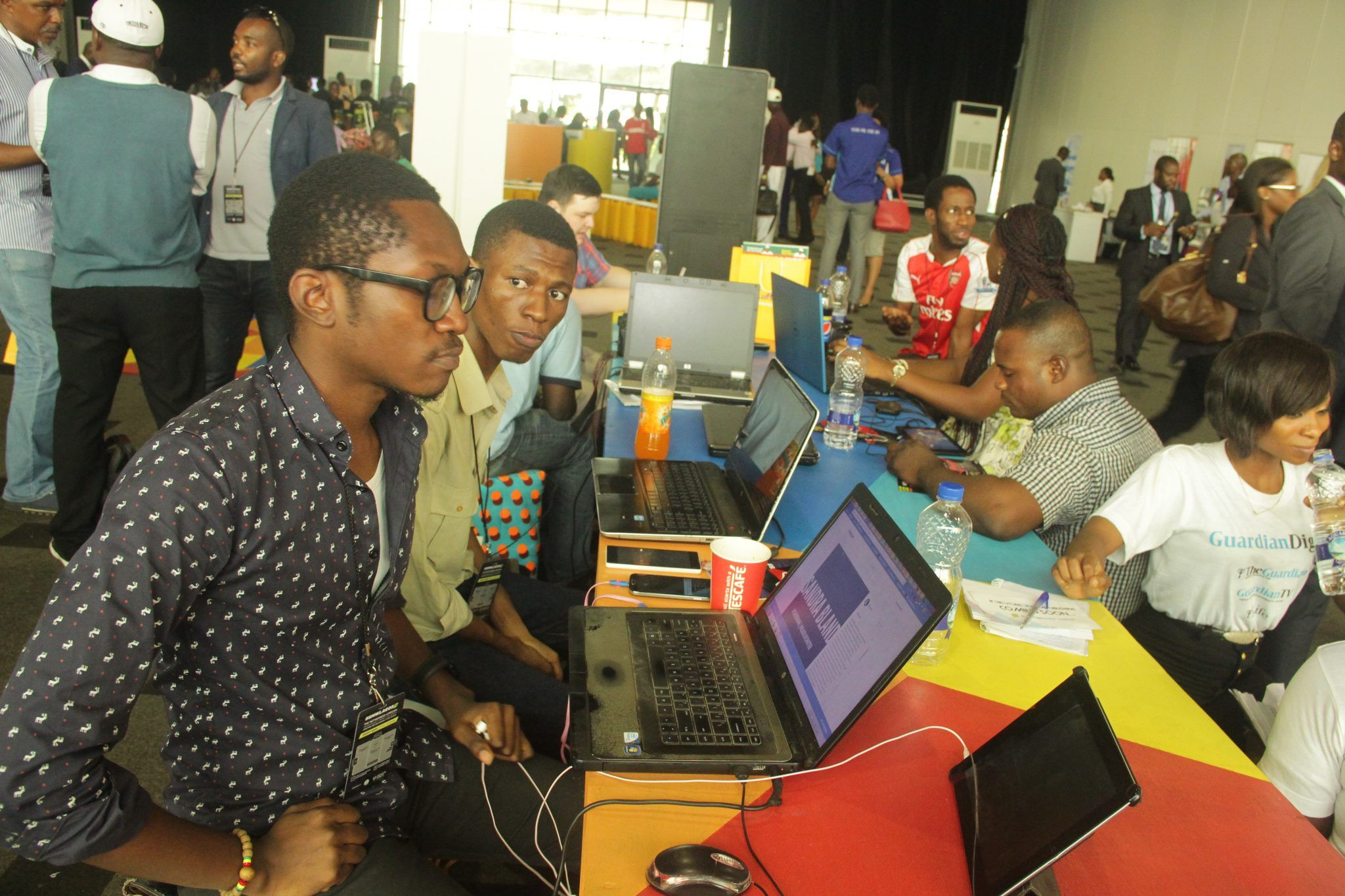 A cross section of activities at 2016 Social Media Week Lagos