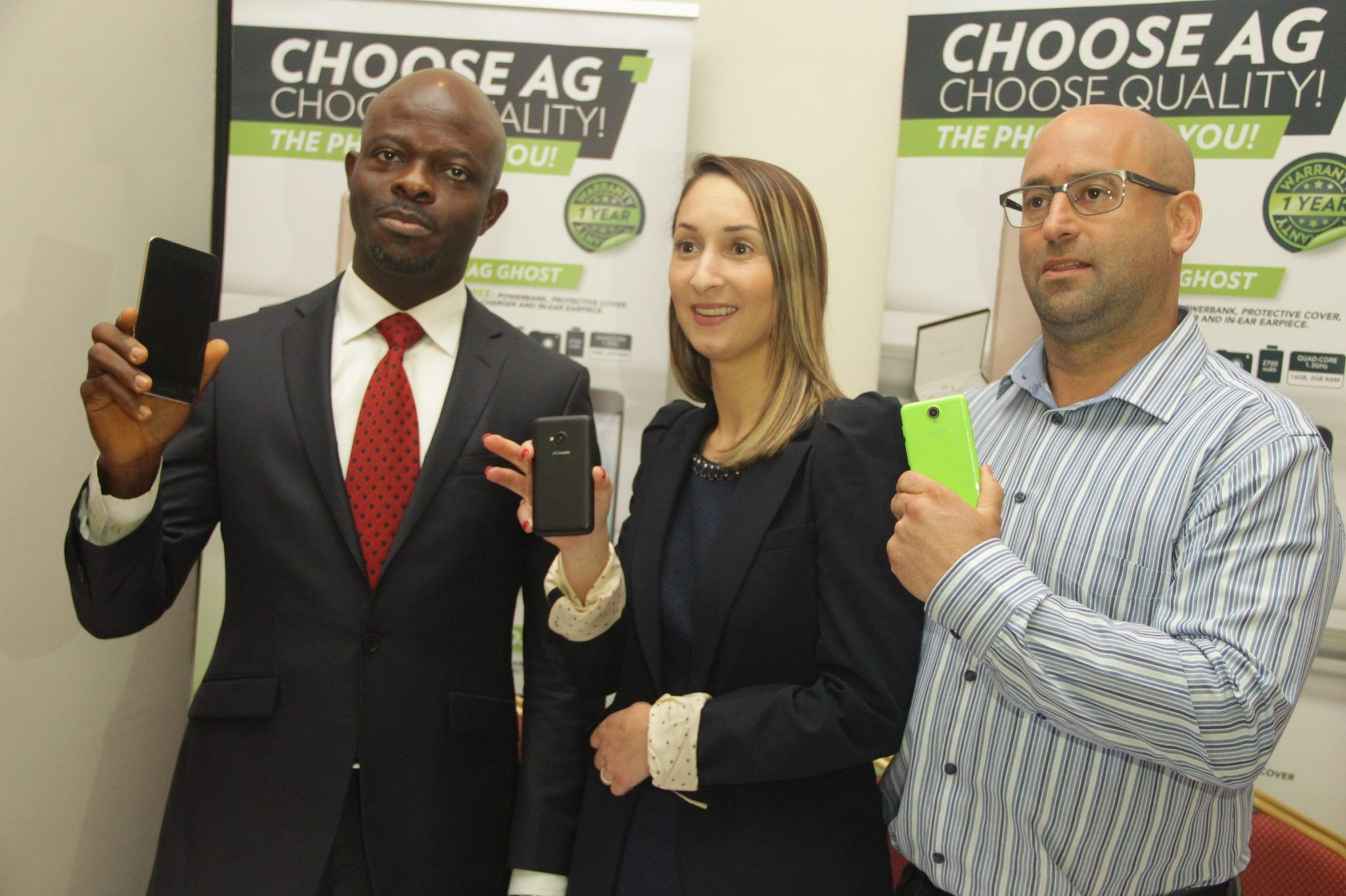 South Africa's AG Mobile unveils four smartphones in Nigeria
