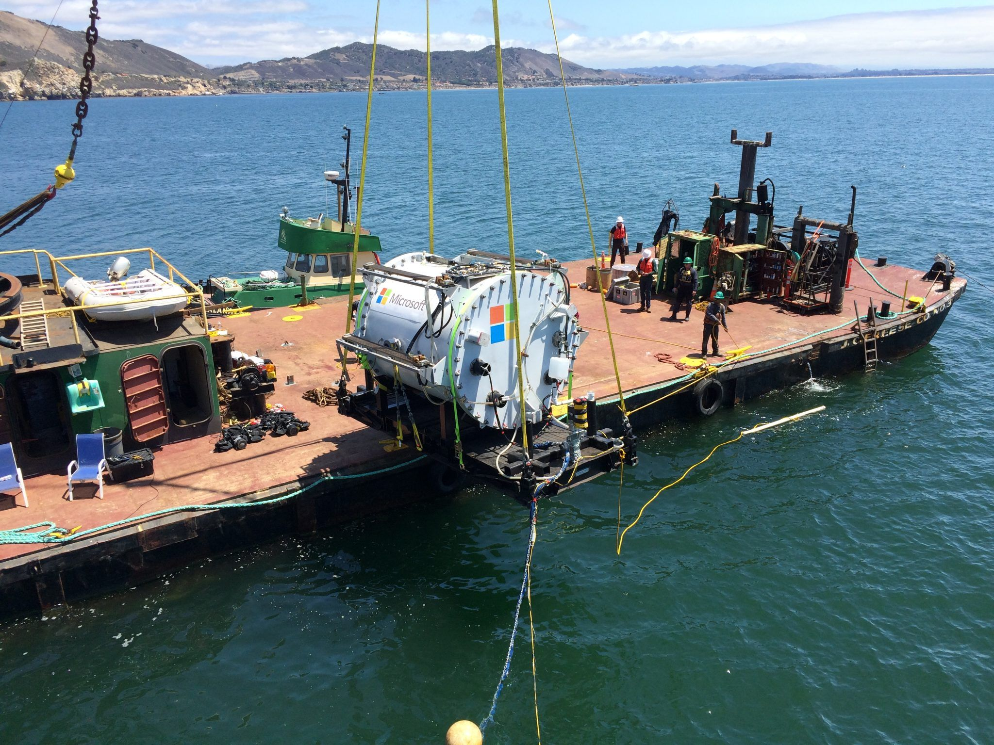 With Project Natick, Microsoft pilots undersea data centre