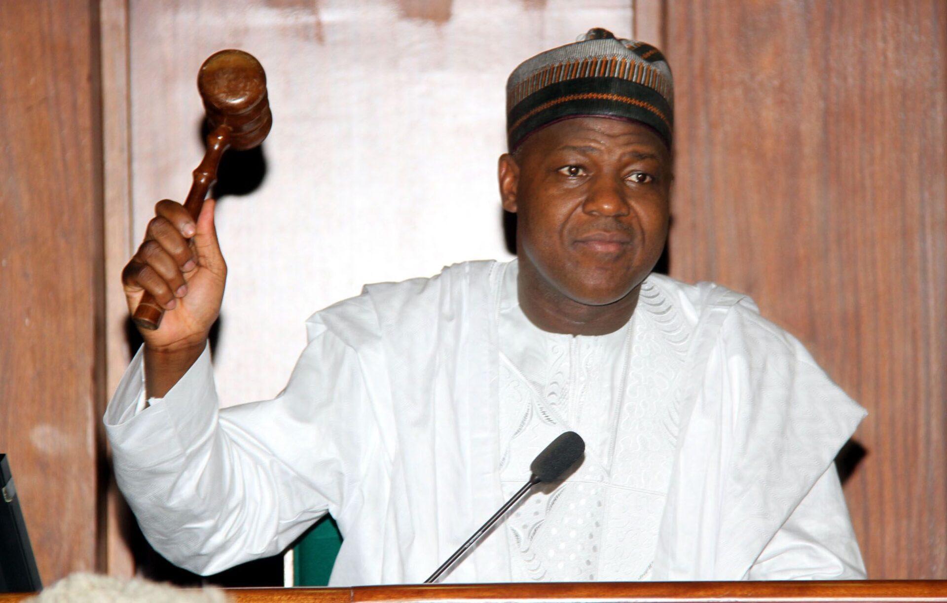 Yakubu Dogara, Speaker of House of Representatives