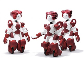 Hitachi's new humanoid robot offers customers assistance services