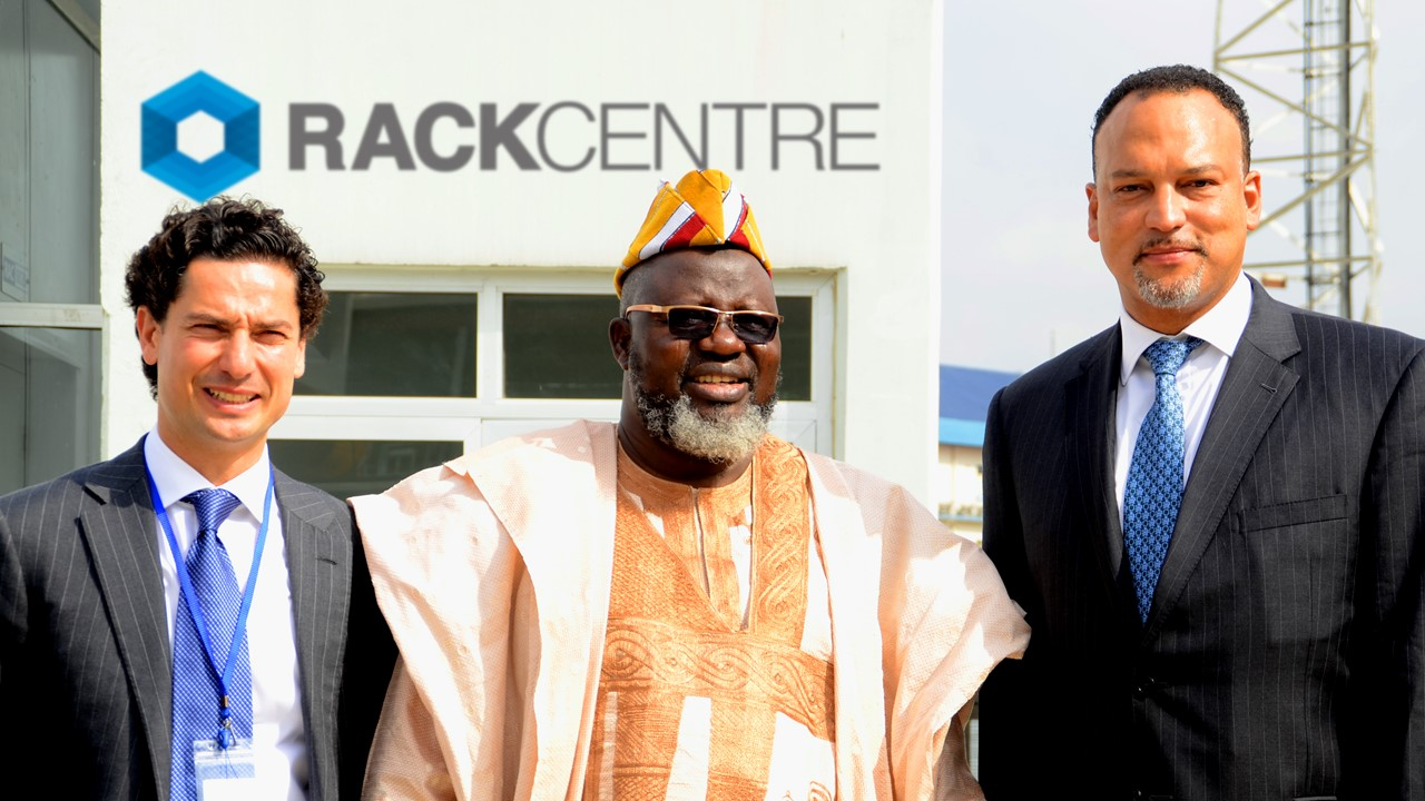 Nigeria's Communications Minister 'tweets' journey inside Rack Centre
