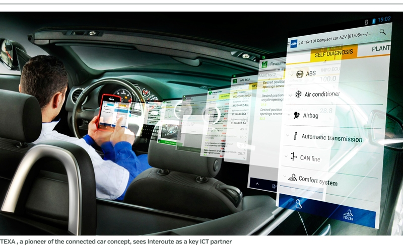Interoute, Texa, Interoute renew connected car deal, Technology Times