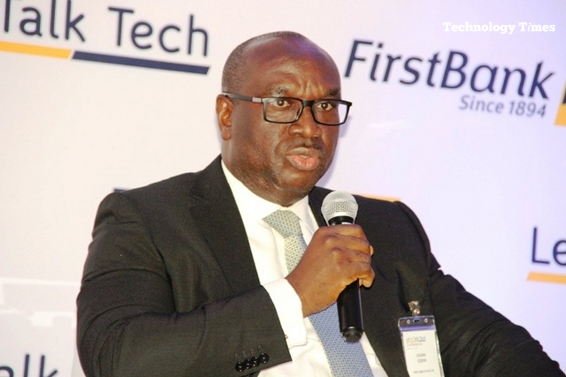 Chuma Ezirim,  the Group Executive, e-Business and Retail Products, First Bank of Nigeria Limited,