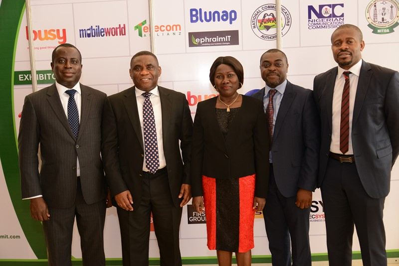 Pictured: Ghana Information Technology & Telecom Awards 2016