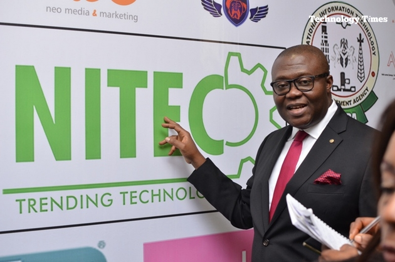 Pictured: NITEC 2016 exhibitions and conferences in Lagos