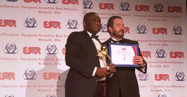NCC wins European award