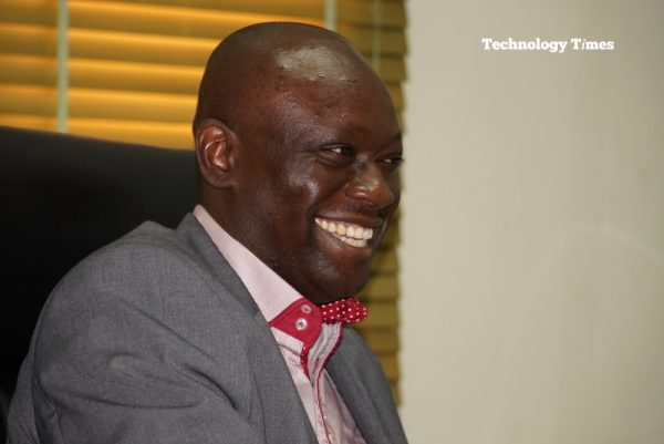 Mr. Simon Kolawole, Founder/CEO of TheCable, seen in photo during the interview with Technology Times