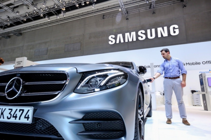 With 'digital key', Samsung smartphone controls your Mercedez