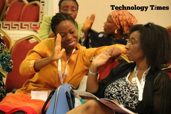 Cross section of participants at the AWIEF 2016 held in Lagos