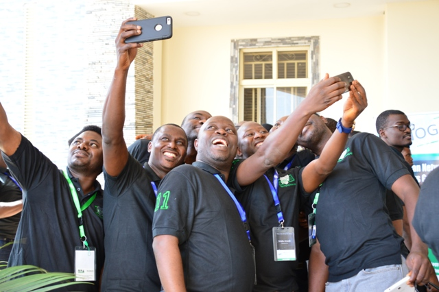 , Pictured: Selfies, learning and networking at ngNOG 2016, Technology Times