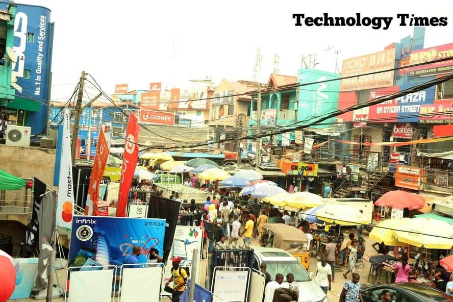 Nigeria's largest technology market shuts down tomorrow over Coronavirus