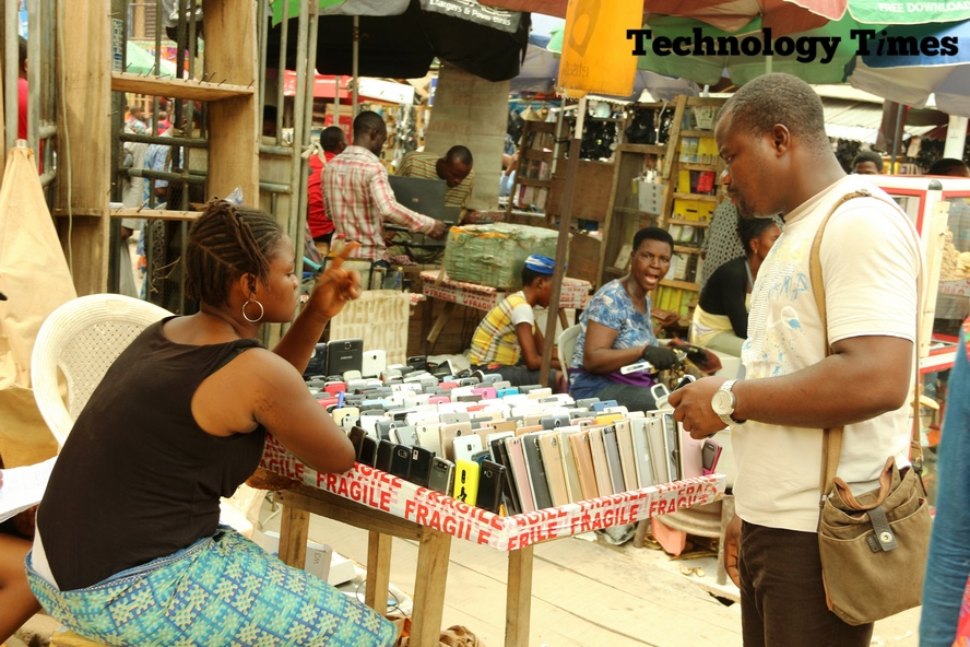 COMPUTER VILLAGE | Business activities rise at biggest tech market in Nigeria