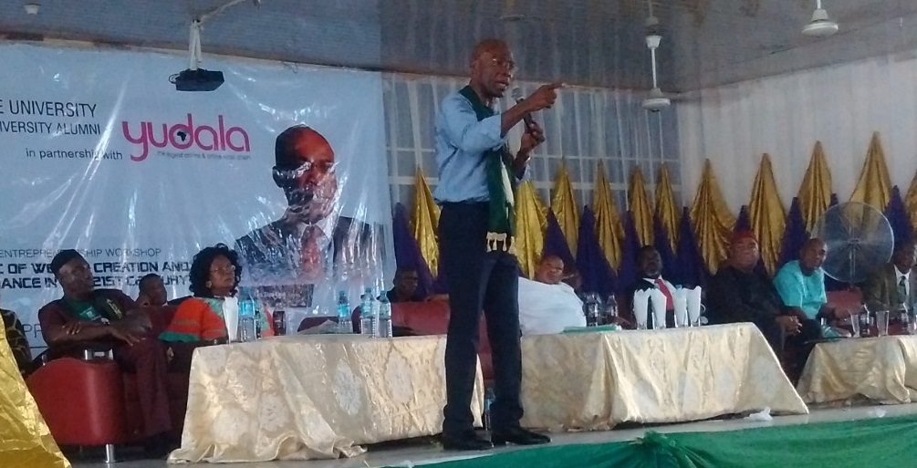 Ekeh to youths: 'You've no reason being poor in 21st Century'