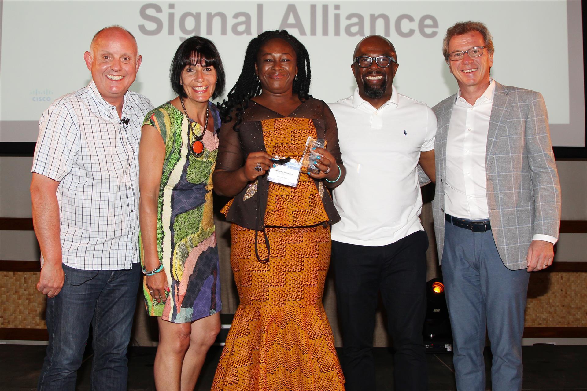 Signal Alliance of Nigeria wins Cisco award
