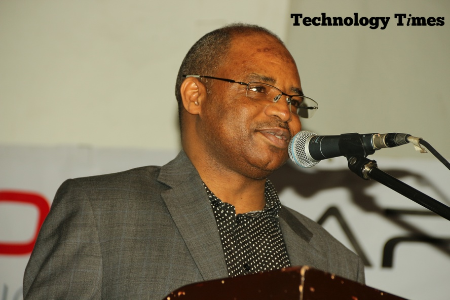 Engineer Aliyu Aziz Abubakar, Director General/CEO of National Identity Management Commission (NIMC) seen speaking Friday at #TTOutlook17 in Lagos says that National ID is the cornerstone of participation in the modern economy