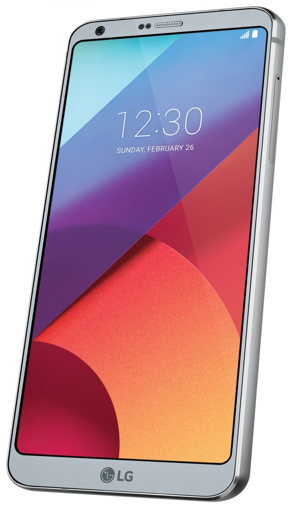 New Flagship LG G6 Smartphone is Ideal for Enterprise Productivity and Offers Always-on Display, Wireless Charging, and the Google Assistant