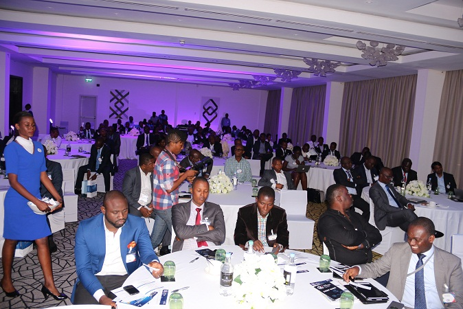 Cross section of attendees at the IDC West Africa CIO Summit 2017 held May 18, 2017 at the Renaissance Hotel, GRA in Ikeja, Lagos, which gathered the region's leading CIOs