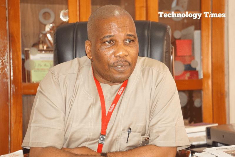 """The road ahead: Mr Eric Osagie, Managing Director/Editor-in-Chief of The Sun Newspapers says, """"We believe that we can push a couple of others leading us aside because The Sun is a very aggressive brand."""" Photo by Technology Times."""