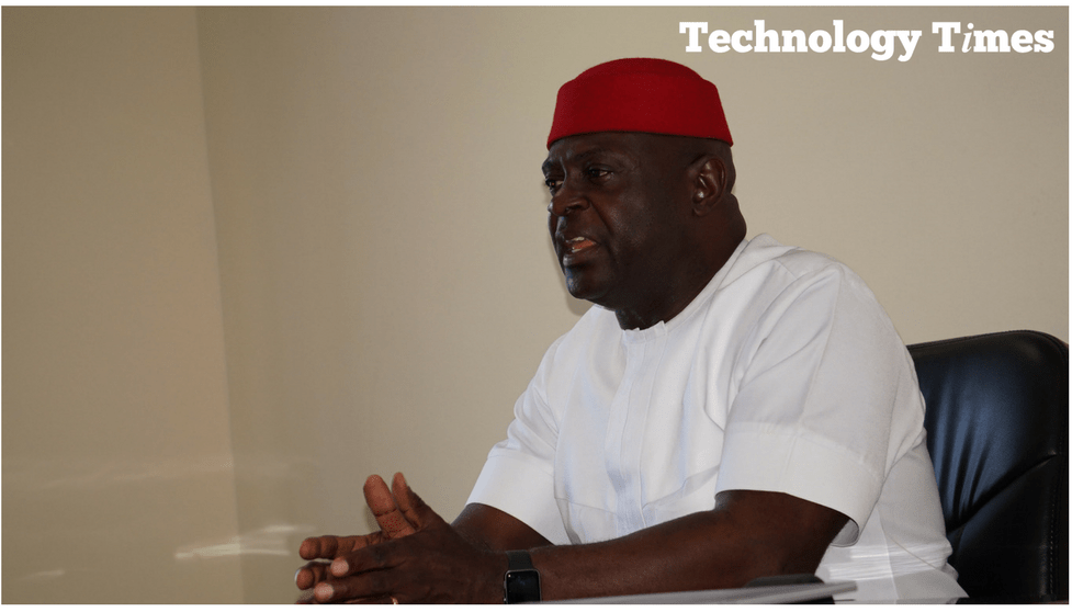 Chima Onyekwere, Linkserve Founder/Chairman of Linkserve Limited, says he wants to be a game changer as he launches his political bid. Photo credit: Technology Times/Kehinde Sonola