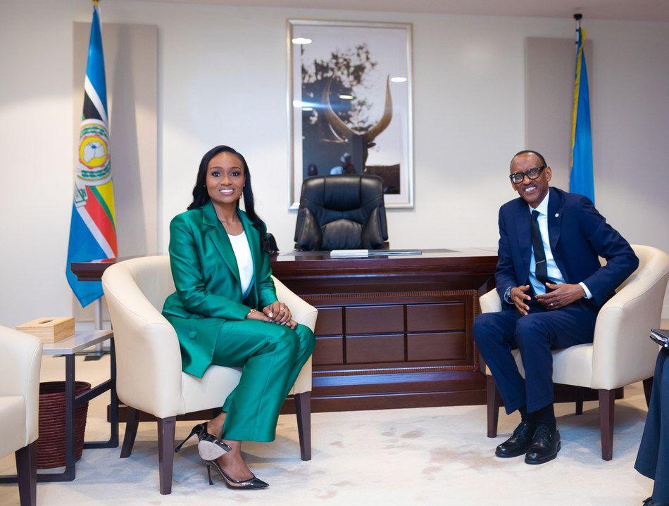 Rwandan President, Glo EVC say digital tech can lift Africa