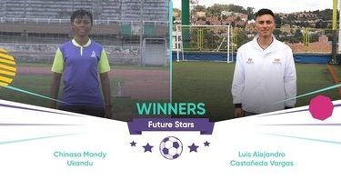 Female Nigerian coach, Chinasa Ukandu, has emerged one of the two winners of 2019 Future Stars, a coaching programme organised by online money transfer company WorldRemit and Arsenal.